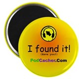 "Podcacher 2.25"" Magnet (100 pack)"