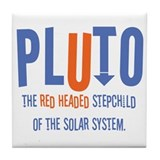 Pluto Red Headed Stepchild Tile Coaster
