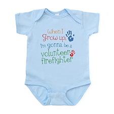 Future Volunteer Firefighter Infant Bodysuit