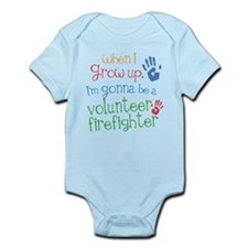 Future Volunteer Firefighter Onesie