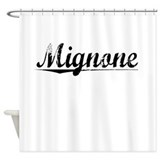 Mignone, Vintage Shower Curtain