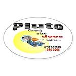 Pluto 1930-2006 Oval Sticker