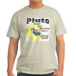 Pluto 1930-2006 Ash Grey T-Shirt