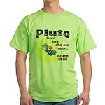 Pluto 1930-2006 Green T-Shirt