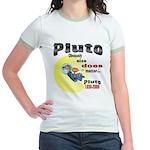 Pluto 1930-2006 Jr. Ringer T-Shirt