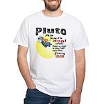 Pluto 1930-2006 White T-Shirt