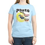 Pluto 1930-2006 Women's Pink T-Shirt