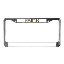 Erick Circuit License Plate Frame