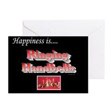 Happiness Is... Black Greeting Cards (Pk of 10