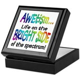 Cool Autistic Keepsake Box