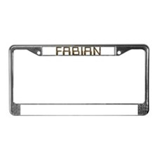 Fabian Circuit License Plate Frame
