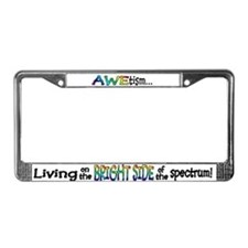 Cute Autism License Plate Frame