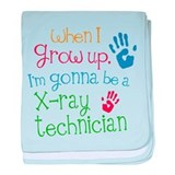 Future X-ray Technician baby blanket