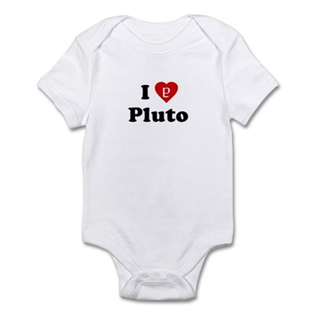 I Heart Pluto Infant Creeper