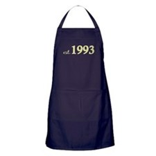 Est 1993 (Born in 1993) Apron (dark)