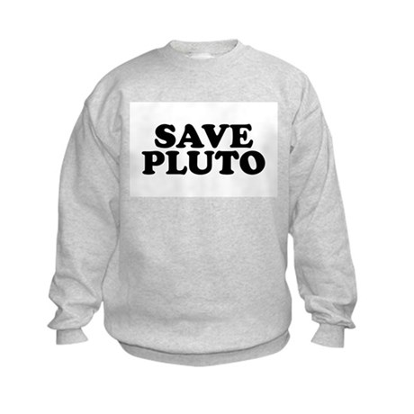 Save Pluto Kids Sweatshirt