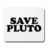Save Pluto Mousepad
