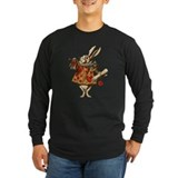 Vintage Alice White Rabbit Long Sleeve T-Shirt