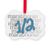 13.1 Half-Marathoner Picture Ornament