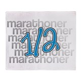 13.1 Half-Marathoner Throw Blanket