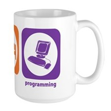 Eat Sleep Programming Mug
