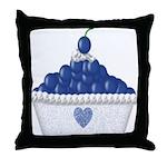Blueberry Delight Throw Pillow