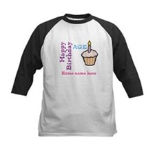 Personalized Birthday Cupcake Tee
