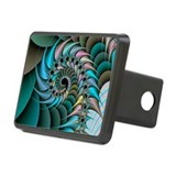 Computer-generated chaos fractal - Hitch Cover