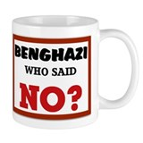 Benghazi Who Said NO? Mug