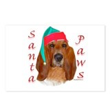 Basset Paws Postcards (Package of 8)