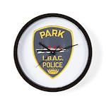 Nu-Pike Police Wall Clock