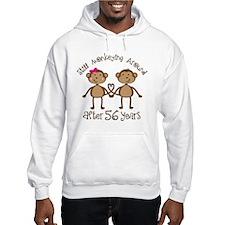 56th Anniversary Love Monkeys Hoodie