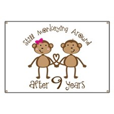 9th Anniversary Love Monkeys Banner