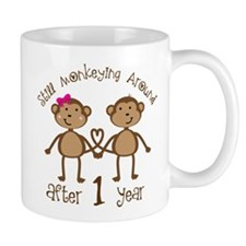 1st Anniversary Love Monkeys Mug