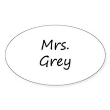 Mrs Fifty Shades of Grey Decal