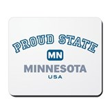 Proud State-Minnesota: Mousepad
