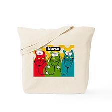 Black cats NURSES 3.PNG Tote Bag