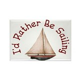 I'd Rather Be Sailing Magnets (10 pack)