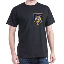 Sleepy Hollow Police Black T-Shirt