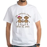 2nd Anniversary Love Monkeys Shirt