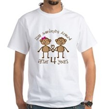 4th Anniversary Love Monkeys Shirt