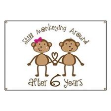 6th Anniversary Love Monkeys Banner