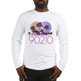 Retro 90210 Long Sleeve T-Shirt