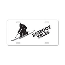 Bigfoot Teles Aluminum License Plate