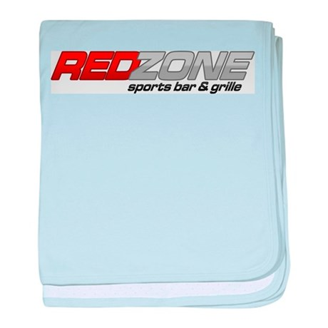 Red Zone Sports Bar and Grille baby blanket