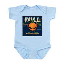 Orange Man Infant Creeper
