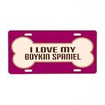 Boykin Spaniel Gift Aluminum License Plate