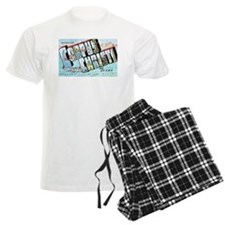 Corpus Christi Texas Greetings Pajamas