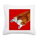 redcerealcrop.png Square Canvas Pillow