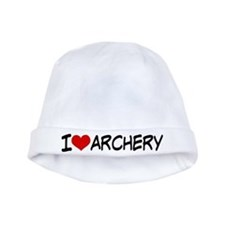 I Heart Archery baby hat